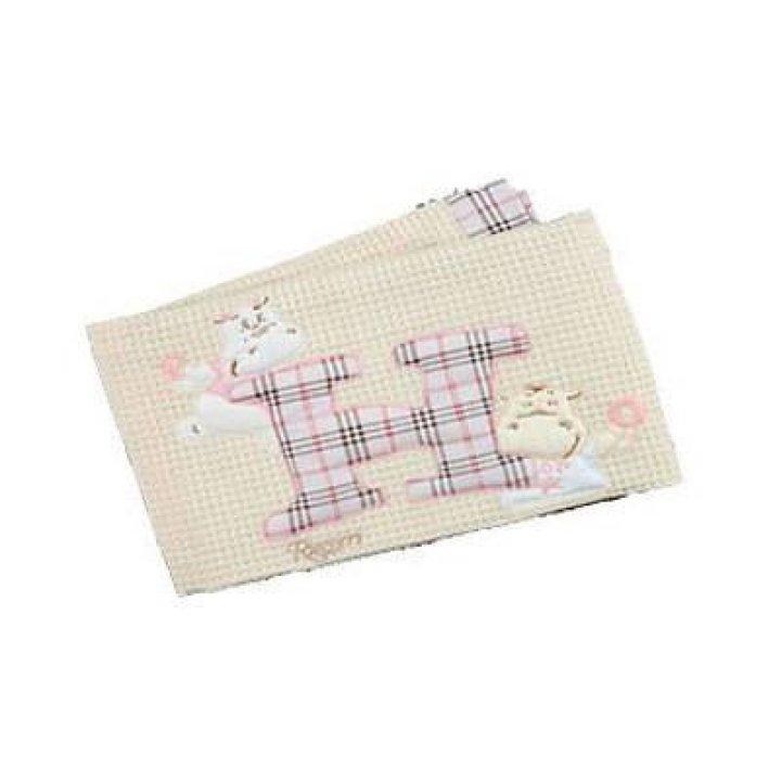 Одеяло в кроватку Ruggeri Hippo Розовый