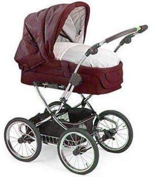 Универсальная коляска 2 в 1 Teutonia Elegance Бордовый