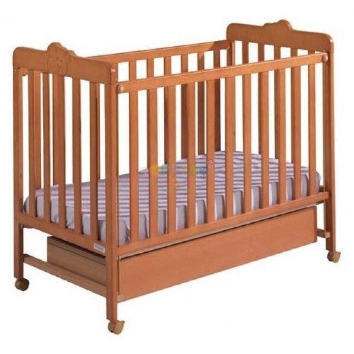 Кроватка Micuna LOVE медовый