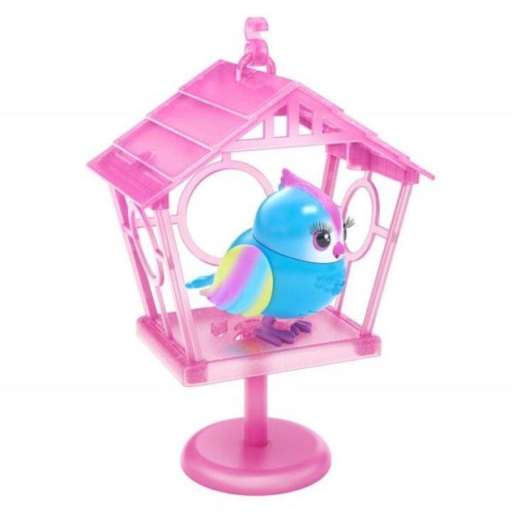 Говорливая птичка LittleLive Рейбоу Твитс со скворечником