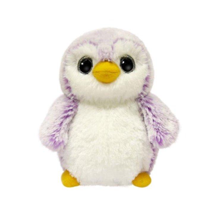 Мягкая игрушка Aurora Пингвин девочка Пом Пом 15 см