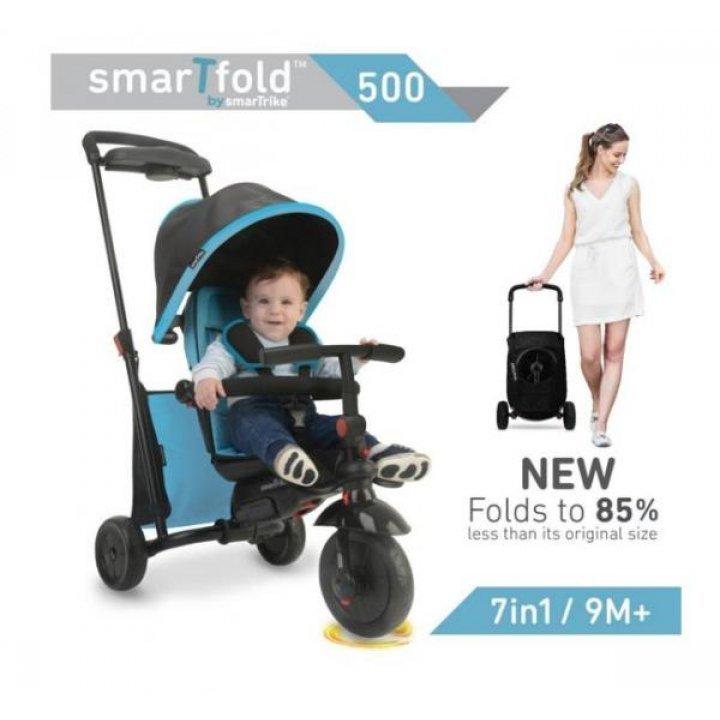 Smart Trike Велосипед SmarTfold 500 7 в 1 Голубой
