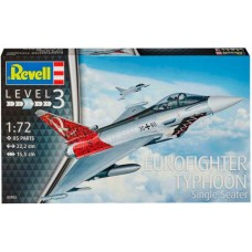 Истребитель Eurofighter Typhoon single seater, 1:72, Revell