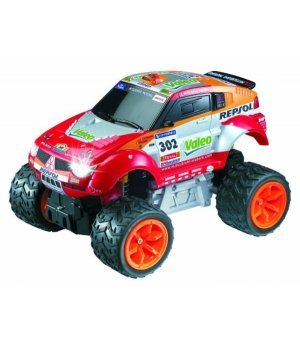 Автомобиль на р/у 1:28 Auldey Mitsubishi Dakar Pajero Evolution Rally