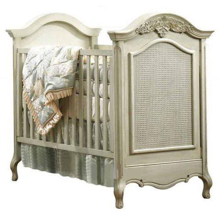 Детская кроватка Natart Verona Белый с серебром