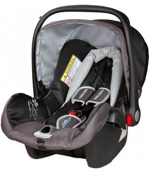 Автокресло Caretero Fly black