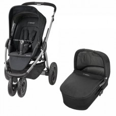 Коляска 2 в 1 Maxi Cosi Mura 3 Plus (Carrycot) Black Raven