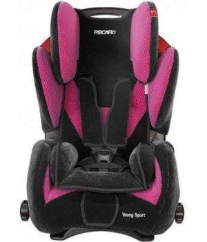 Автокресло RECARO Young Sport Microfibre Pink
