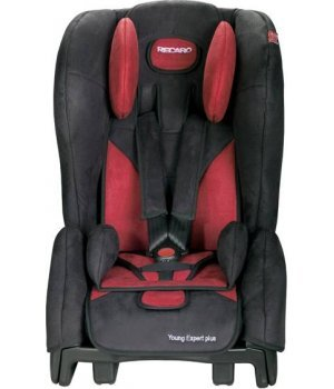 Автокресло RECARO Young Expert plus Bellini cherry/black