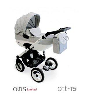 Коляска 3 в 1 ADBOR OTTIS OTT-15 Limited
