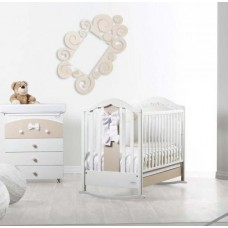 Детская кроватка Baby Italia FIOCCO White/Dove Grey