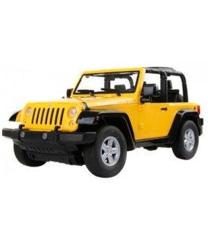 Автомобиль на радиоуправлении MZ Meizhi JEEP Robicon, 1:9 желтый