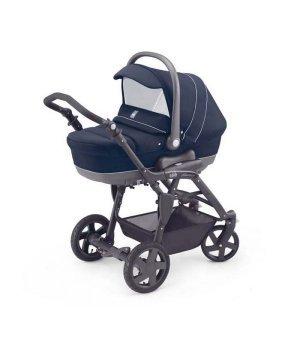 Универсальная коляска 3 в 1 Cam Dinamico Tris темно-синий