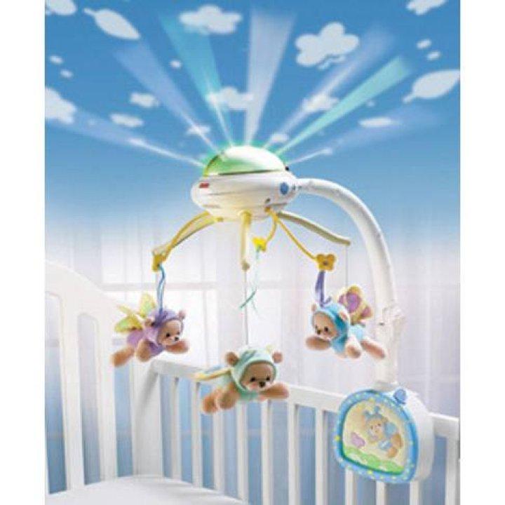 Мобиль для кроватки Fisher-Price Мечты о бабочках