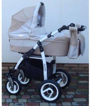 Универсальная коляска 2 в 1 Adbor Siesta 15 (beige-grey)