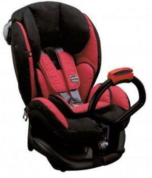 Автокресло BeSafe iZi Kid X1 Черный с красным