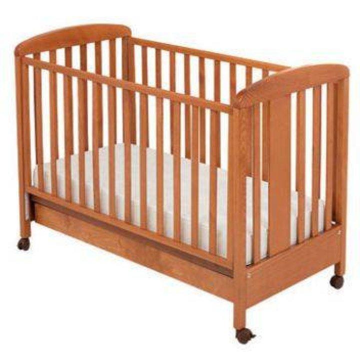 Детская кроватка Ruggeri Bear вишня