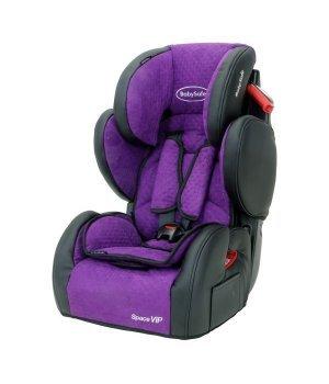 Автокресло Baby Safe Space VIP purple
