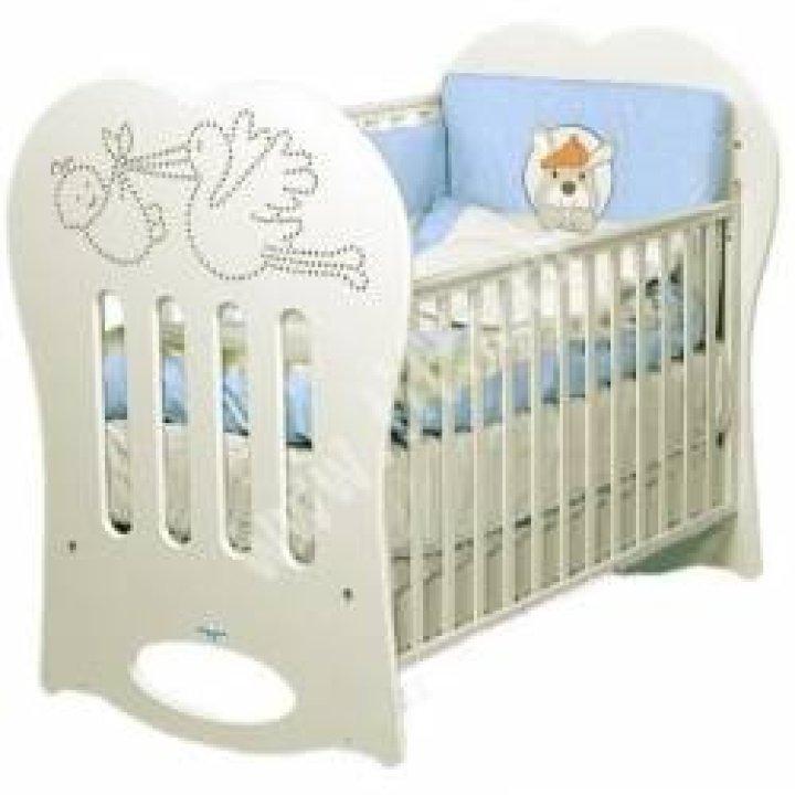 Кроватка Baby Italia CRYSTAL слоновая кость