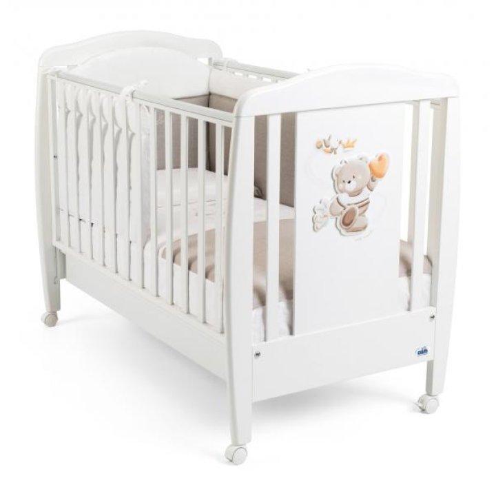 Детская кроватка САМ ORSO G210 Белая