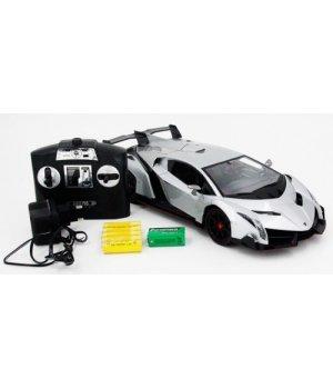 Автомобиль на радиоуправлении Lamborghini Veneno, 1:14, MZ Meizhi серый