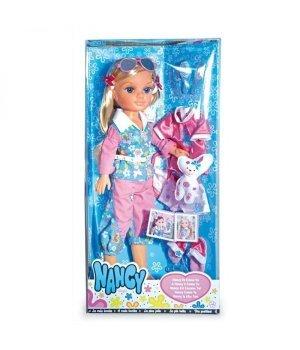 Кукла Nancy Famosa блондинка с набором одежды