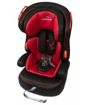 Автокресло Wonderkids VALET SAFE красный/черный