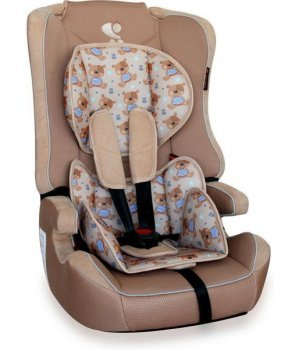 Bertoni автокресло EXPLORER beige cute bears