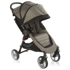 Прогулочная коляска Baby Jogger City Mini 4 Wheel 2014 CRIMSON/GRAY