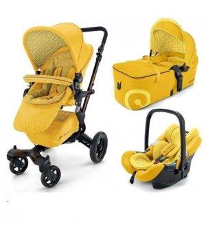 Универсальная коляска 3 в 1 Concord NEO MOBILITY-SET Limited Blazing Yellow 2016 (Желтая)