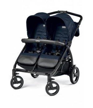 Прогулочная коляска для двойни Peg-Perego Book for Two MOD NAVY