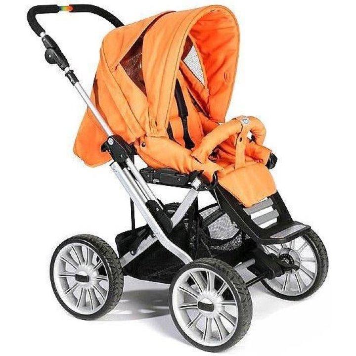 Универсальная коляска 2 в 1 Teutonia Mistral P (Primus) Оранжевый