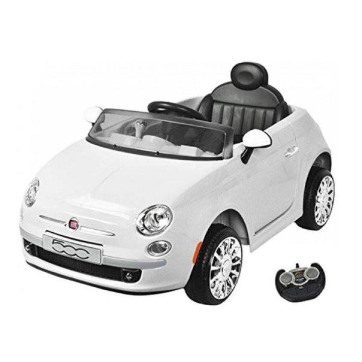 Детский электромобиль BabyHit Fiat Z651R White