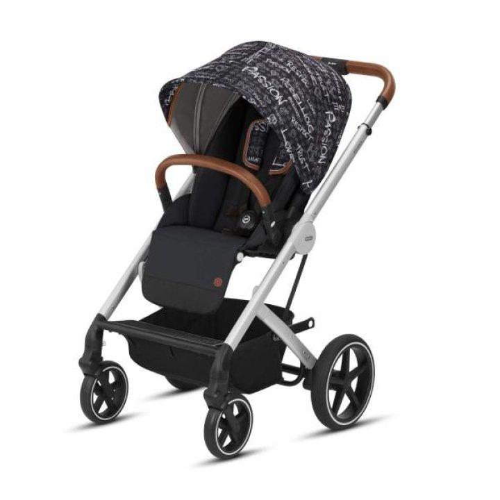 Прогулочная коляска Cybex Balios S Strength-Dark Grey 2019