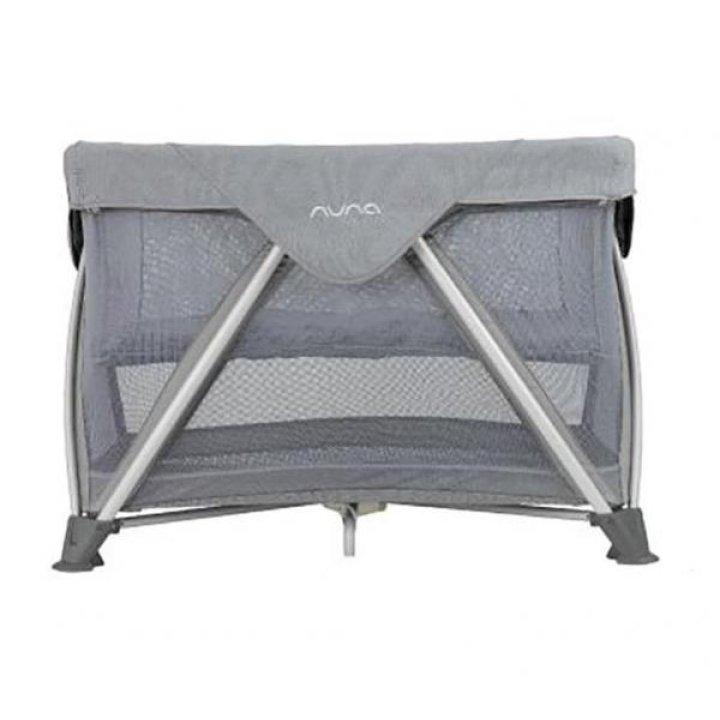 Манеж кроватка Nuna Sena Air Frost Серый