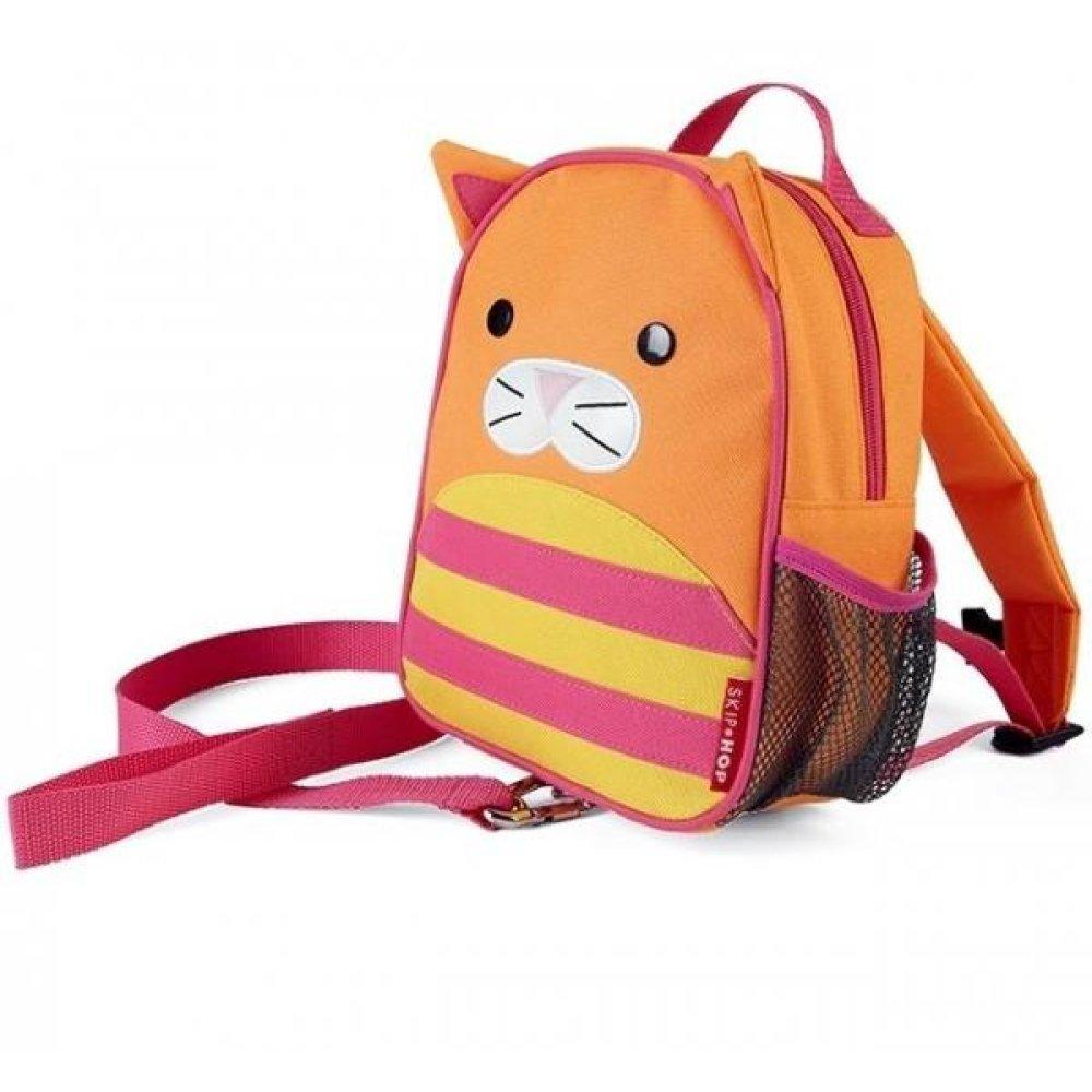 9988f8b1cf0c Детский рюкзак с ремешком безопасности Skip Hop Zoo Кошка (212257 ...