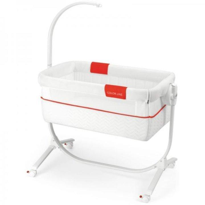 Приставная колыбель-кроватка CAM Cullami с постелью Color Line