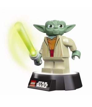 Светодиодный фонарик-ночник IQ Lego, Star Wars Yoda