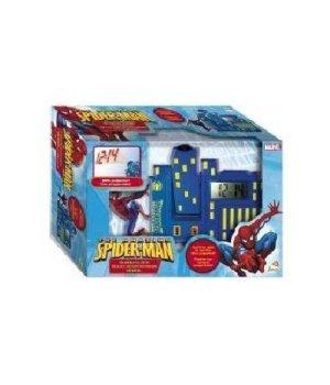 Цифровые часы с проекцией Spiderman