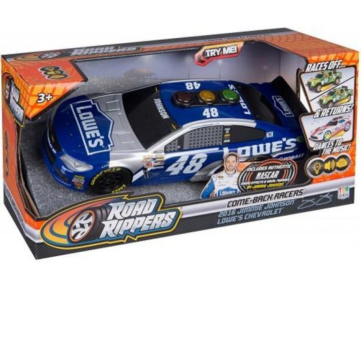 Машинка Toy State Веселые гонки со светом и звуком (33 см) Jimmie Johnson Lowes Chevrolet (33633)
