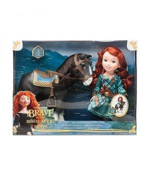 Кукла-малышка Мерида с лошадкой Disney