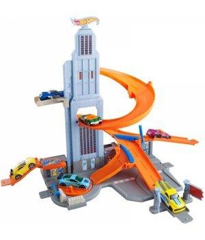 Автомобильный трек Mattel Hot Wheels Небоскреб