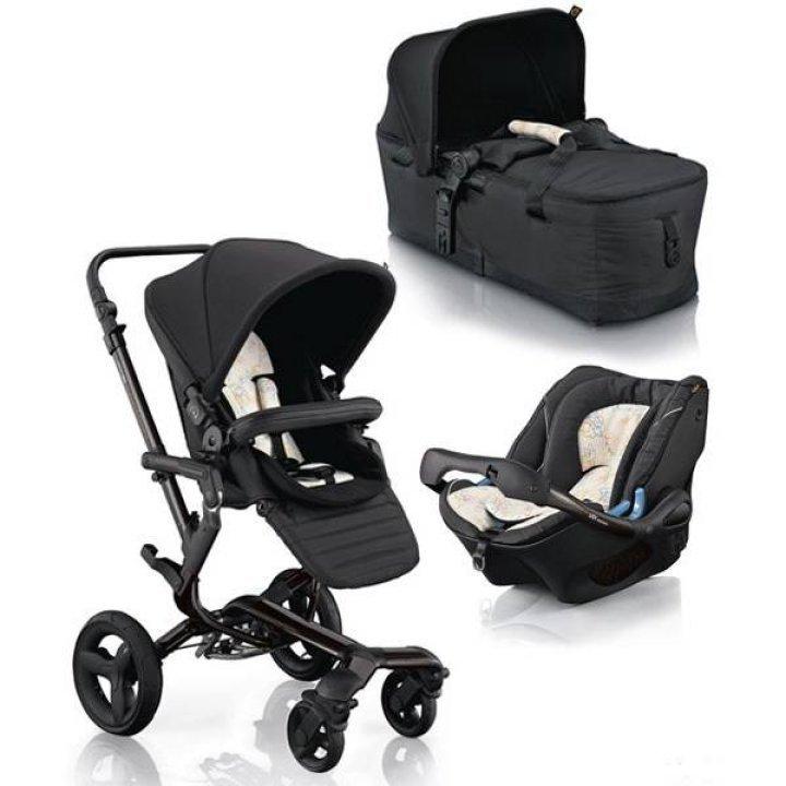 Универсальная коляска 3 в 1 Concord Neo Carbon Black