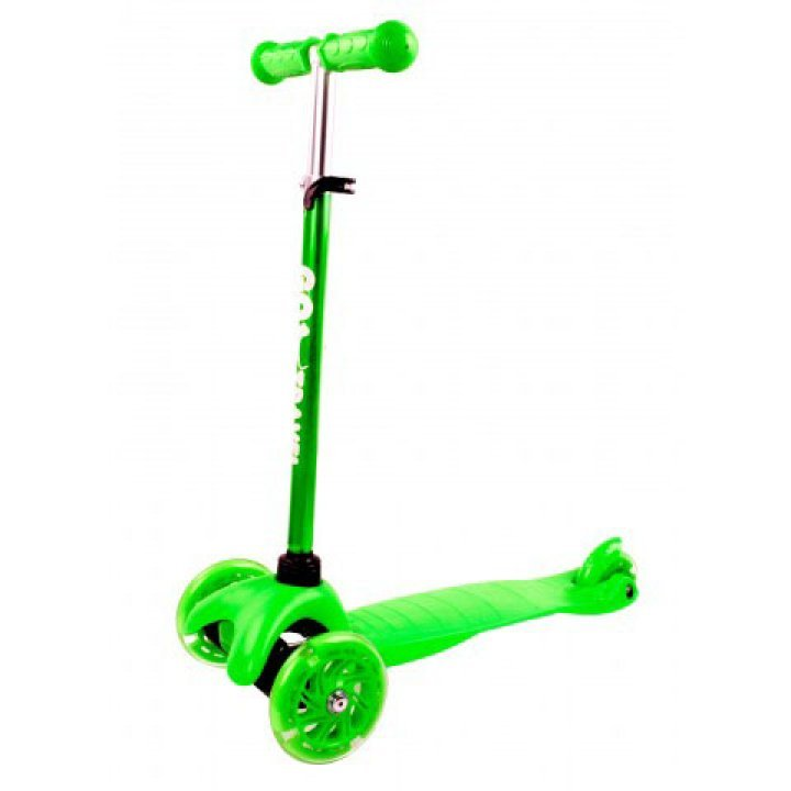 Cамокат GO Travel maxi зелений