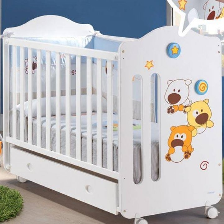 Детская кроватка Micuna Sonic Белый