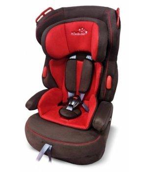 Автокресло Wonderkids VALET SAFE красный/коричневый