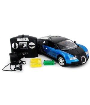 Автомобиль на радиоуправлении Bugatti Veyron, 1:14, MZ Meizhi синий