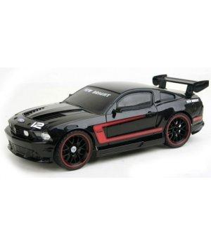 Автомобиль на радиоуправлении New Bright Ford Mustang черный с красным