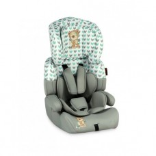 Автокресло Bertoni (Lorelli) Junior Plus grey&green cute bear