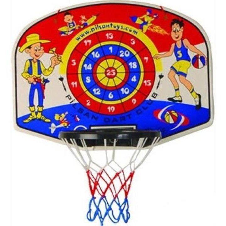 Игровой набор Pilsan Basketball&Dart